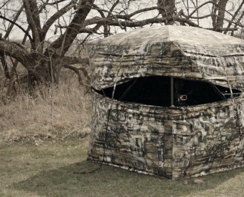 ff double blinds stands hunting blind ground deer
