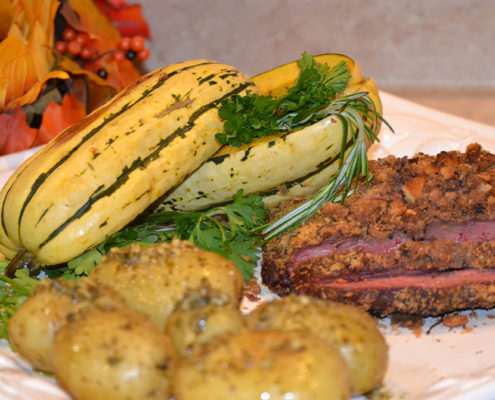smoked elk backstrap wild game recipe | Raised Hunting