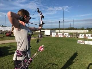 Raised at Full Draw Bowhunting Experience Raised Hunting target shooting practice