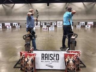 Raised at Full Draw Bowhunting Experience Raised Hunting treestand archery practice