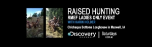 RMEF Ladies Only Event @ Chichaqua Bottoms Longhouse | Maxwell | Iowa | United States